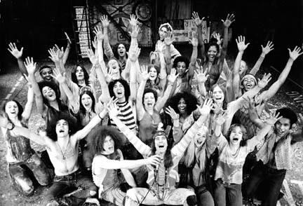 The Original 1971 Broadway Cast of Hair. The Age of Aquarius 1971