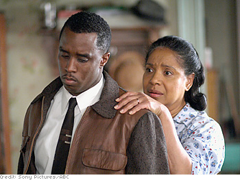 Music mogul Sean Combs stars as Walter Lee Younger, a chauffeur who longs to own his own business and prove his manhood. Phylicia Rashad—who became the first African-American actress to win a Best Actress Tony Award for the stage version—plays Walter Lee's mother, Lena, a woman desperate to retire from her job as a domestic.
