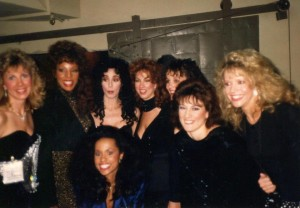 """My Academy Award performance the year Cher (standing next to me) won her Oscar!"""