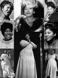 """Mahalia Jackson (Oct. 26, 1911 – Jan. 27, 1972) was an American gospel singer. Possessing a powerful contralto voice, she was referred to as ""The Queen of Gospel"". Jackson became one of the most influential gospel singers in the world and was heralded internationally as a singer & civil rights activist. She was described by en tertainer Harry Belafonte as ""the single most powerful black woman in the United States"". She recorded 30 albums, and her 45 rpm records included 12 Gold Million-Sellers."""