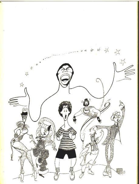 Al Hershfeld ART— with Terry Burrell, Tina Johnston, Jason Graae and Keith Curran.