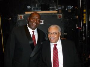 Chuck Cooper and James Earl Jones
