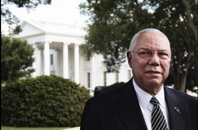 Colin Luther Powell END White House