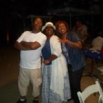 Dale Shields, LaTanya Richardson and Debra Byrd (Los Angeles, CA.)