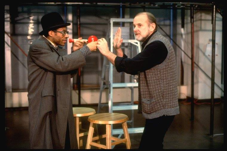 Director and choreographer Bob Fosse with actor Alde Lewis, Jr. BIG DEAL ~ Broadway. Martha Swope (Photo)