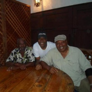 Glynn Turman, Dale Shields and Earl Billings