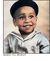 Emmett Louis Till was born in Chicago on July 25, 1941. Emmett was the only child of Louis and Mamie Till. He never knew his father, a soldier, who died.