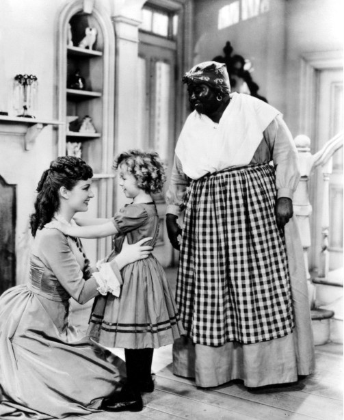 Evelyn Venable, Shirley Temple, and Hattie McDaniel in The Little Colonel 1935