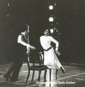 Fred Benjamin and Geneva Vivino.