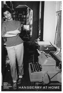 HAnsberry at home (b and w)