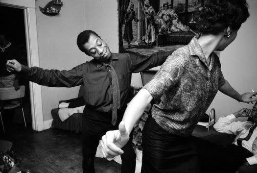 James Baldwin and Lorraine Hansberry