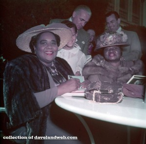 Louise Beavers and Hattie McDaniel