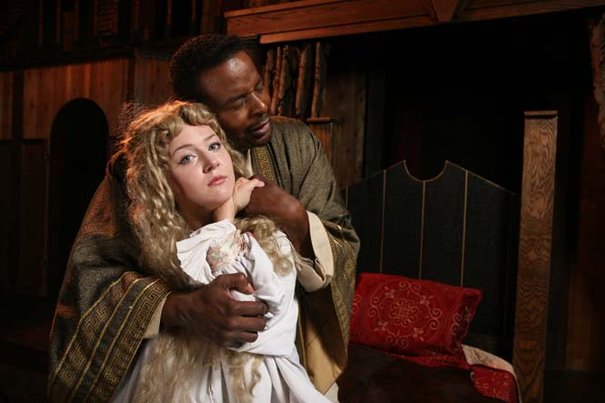 Othello -    Othello - Victor Love  Desdemona - Jennifer Alice Acker  (The New American Shakespeare Tavern)