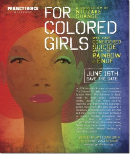 For Colored Girls Who Have Considered Suicide/When The Rainbow is Enuf - 2014