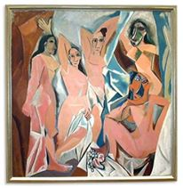 Pablo Picasso, Les Demoiselles d'Avignon , 1907.