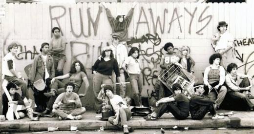 "West Coast Premiere ""Runaways"" Cast Photo"