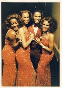 Dream Girls (Broadway) - Loretta Devine, Terry Burrell, Lee Summers and (sister) Deborah Burrell