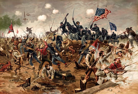"This Day in History: Apr 12, 1861: The Civil War begins  The bloodiest four years in American history begin when Confederate shore batteries under General P.G.T. Beauregard open fire on Union-held Fort Sumter in South Carolina's Charleston Bay. During the next 34 hours, 50 Confederate guns and mortars launched more than 4,000 rounds at the poorly supplied fort. On April 13, U.S. Major Robert Anderson surrendered the fort. Two days later, U.S. President Abraham Lincoln issued a proclamation calling for 75,000 volunteer soldiers to quell the Southern ""insurrection."""