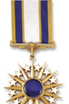 Army Distinguished Service Medal See more recipients of this award Awarded for actions during the Peace Time Awards (Citation Needed) - SYNOPSIS: General Colin Luther Powell, United States Army, was awarded a Bronze Oak Leaf Cluster in lieu of a Second Award of the Army Distinguished Service Medal for exceptionally meritorious and distinguished service in a position of great responsibility to the Government of the United States. Service: Army Rank: General