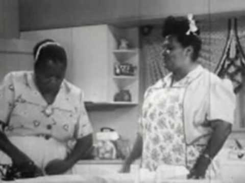 Hattie McDaniel and Ruby Dandridge