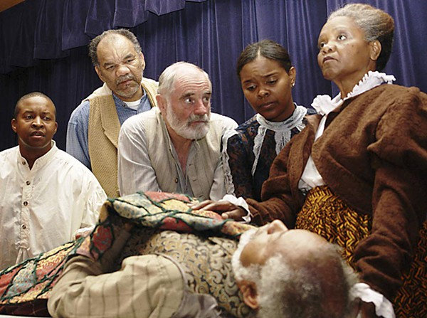 August Wilson's The Pittsburgh Cycle. Donald Lewis, Wilbert Williams, Charles Bosworth, Coti Gayles, Adella Gautier and Harold Evans, from the 2006 production of Joe Turner's Come and Gone.