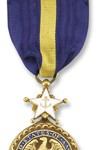 Navy Distinguished Service Medal See more recipients of this award Awarded for actions during the Peace Time Awards The President of the United States of America takes pleasure in presenting the Navy Distinguished Service Medal to General Colin Luther Powell, United States Army, for exceptionally meritorious and distinguished service in a position of great responsibility to the Government of the United States as Chairman of the Joint Chiefs of Staff from October 1989 through September 1991. In this capacity, General Powell was instrumental in leading the Armed Forces of the United States through numerous conflicts, humanitarian and peace keeping missions, and the largest restructuring of the Armed Forces since the demobilization following World War II. In service to his country, General Powell consistently gave sound advice to its leadership and demonstrated exceptional diplomatic acumen when dealing with the civilian and military leaders of foreign Nations thereby providing the necessary groundwork to enhance National security relationships worldwide. His advice to those in Government was flawless and contributed directly to the peaceful winning of the Cold War. General Powell was particularly effective in promoting a strong Navy and gave valuable support to the Navy on a variety of critical maritime issues. General Powell's most important and lasting contribution to the United States of America is a lean, professional Army, Navy, Air Force, and Marine Corps capable of working together in the best interests of defending freedom anywhere in the world. He has earned the respect of every Soldier, Sailor, Airman, and Marine, and the American public. General Powell's superb leadership skills, distinctive achievements, and unselfish devotion to duty reflected great credit upon himself and were in keeping with the highest traditions of the United States Armed Forces. Action Date: October 1989 - September 1993 Service: Army Rank: General Company: Chairman Division: Joint Chiefs of Staff