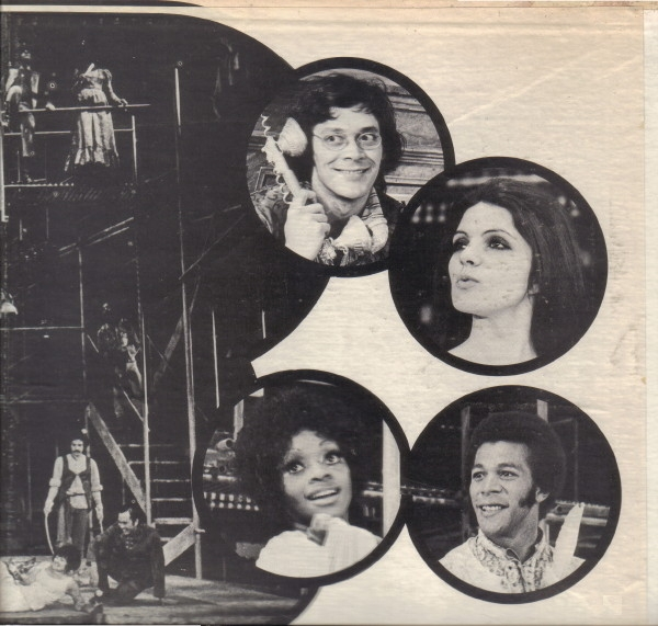 Original Broadway leads:  Raul Julia as Proteus  Diana Davila as Julia  Jonelle Allen as Sylvia  Clifton Davis as Valentine